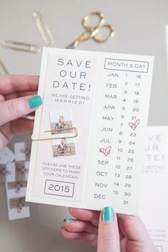 Make your own save the dates with this printable invitation and your own instagr. - ❦ Wedding // Stationery / Save the Date - Save The Date Invitations, Custom Wedding Invitations, Wedding Stationary, Printable Invitations, Wedding Favors, Invitation Ideas, Make Your Own Wedding Invitations, Corporate Invitation, Party Invitations