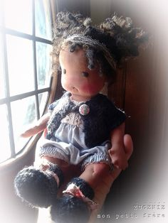 """Eugenie-10"""" Petite Classic baby doll by Mon Petit Frère"""