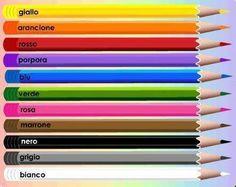 #Italian Color Lesson!
