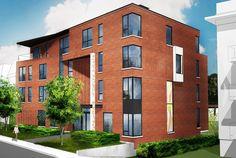 Le 323 La Rive, Laval, Loft, Construction, Multi Story Building, House, Building, Lofts, Bridge