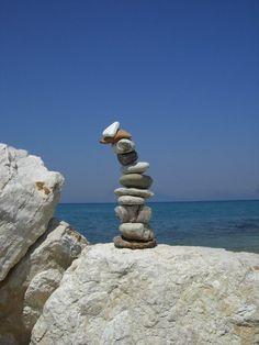 Rock Cairn - Greece