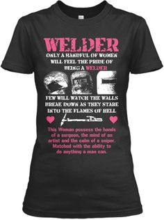 Womens Welding Shirt.... maybe once i get certified I'll purchase this