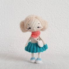 Amigurumi doll by Maria Karaeva - ami_dolls. (Inspiration).