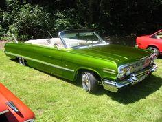 63' impala vert lowrider.