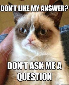 Grumpy Cat.....