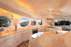 Flintstone Home Inspires Contemporary Residence in Malibu, USA
