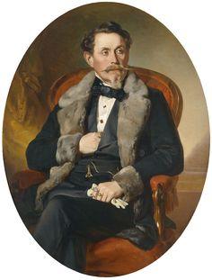 Portrait of Alois Reitter, Josef Plank, 1858