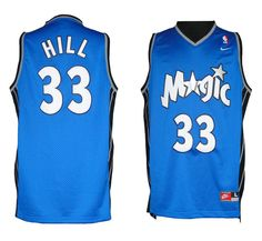 4f93b776dcee Shop Grant Hill Orlando Magic Blue Soul Swingman Jersey Top Deals black