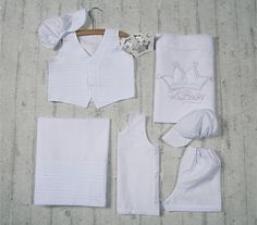 Baptism in elegance White Shorts, Collection, Crown, 3d, Tops, Baby, Women, Fashion, Moda