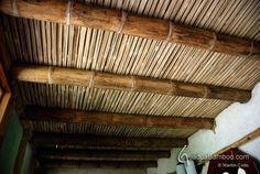 Bamboo Slats Ceiling