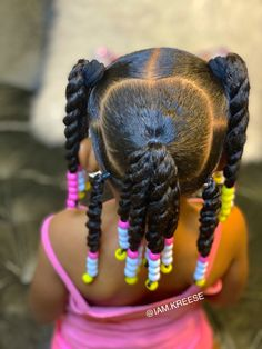 Black Kids Hairstyles, Little Girls Natural Hairstyles, Cute Toddler Hairstyles, Kids Curly Hairstyles, Baby Girl Hairstyles, Girl Hair Dos, Kid Hair, Kid Braid Styles, Long Hair Styles