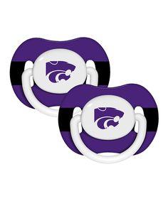 Kansas State University Pacifier - Set of Two