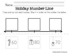 Kindergarten Christmas Math Centers by To the Square Inch- Kate Bing Coners | Teachers Pay Teachers