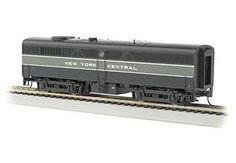 Bachmann HO Standard Line Alco FB2 Diesel Locomotive, with Sound, New York Central
