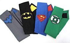 Justice League Geek Wedding Batman Superman Green Lantern Night Wing on Etsy, $40.00