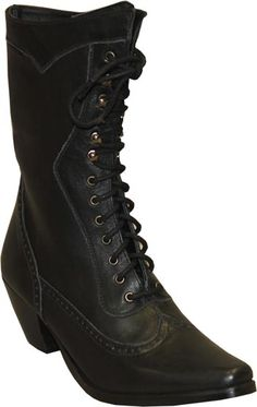 Abilene Boot Co. Victorian Lace Up Boot | Wild West Mercantile