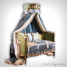 Miniature Dollhouse Furniture by June Clinkscales   Beds