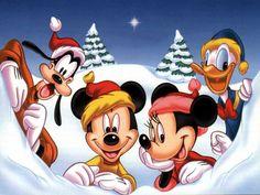Mickey Mouse Xmas