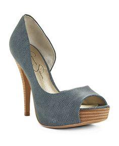 Jessica Simpson Shoes, Acadia Peep Toe Pumps