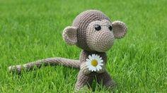 Häkelanleitung süßer Affe Chimp bei makerist