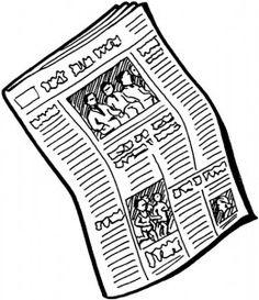 Gymles met kranten