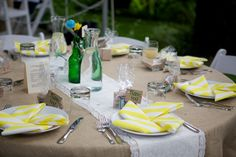 The Party Place, Dormae and Brian's Rustic Woodland Wedding