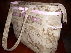 Check out this item in my Etsy shop https://www.etsy.com/listing/108329966/best-military-diaper-bag-from-your
