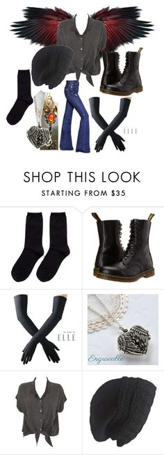"""""""doxies - Starlight"""" by twilightphonix on Polyvore featuring Hansel from Basel, Dr. Martens, Black, Martha Jackson, Evil Twin, Laundromat and Sonia Rykiel"""