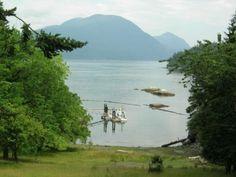 Beautiful Rendezvous Island Cabin Resort Property British Columbia, Canada - For Sale