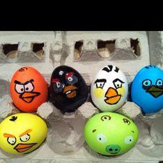 ANGRY BIRD EGGS!!!