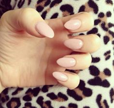 Almond nails - trying to decide how to get mine done for hol loving the biege tho!