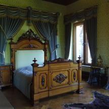 Bedroom in Schloss Drachenburg