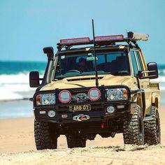 Beach, bush or desert - what's your favourite to explore? Toyota Lc, Toyota Trucks, Toyota Hilux, Toyota Tundra, Toyota Corolla, Landcruiser Ute, Landcruiser 79 Series, Toyota Cruiser, Fj Cruiser