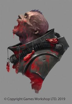 "scifi-fantasy-horror: "" Warhammer Codex Genestealer Cults & Warhammer: Kill Team Art by Jaime Martinez "" Warhammer 40k Art, Warhammer Models, Warhammer 40k Tyranids, Warhammer Figures, Character Portraits, Character Art, Character Design, Dnd Paladin, The Grim"