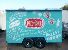 Tacos De Pancho ~ Mexican food truck on Behance