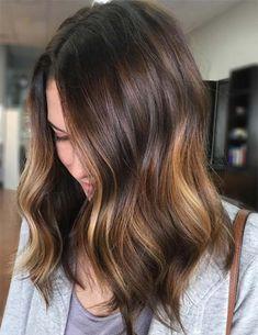 Stylish Subtle Balayage Hairstyles 2018 for Women