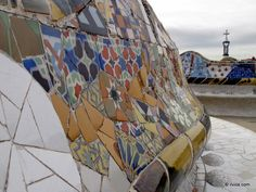Art of mosaic - Barcelona, Spain.