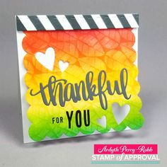 MASKerade: Stamp of Approval Counting Blessings Blog Hop Day 2