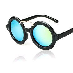 Womens Sunglasses PETPO Retro Gafas redondas Oculos female Sun glasses 2015 moda mujer espelhado Eyewear Outdoor Accessories 322