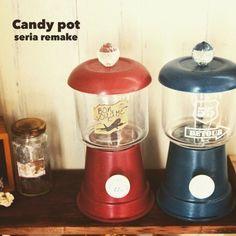 かわいい「キャンディーポット」をDIY感覚で作ろう!100均アイテムを利用した雑貨作りに挑戦 | ギャザリー