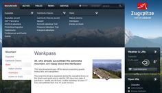 Interesting English on the Zugspitze website...