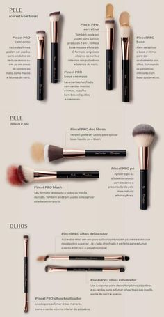 Makeup tools by Natura