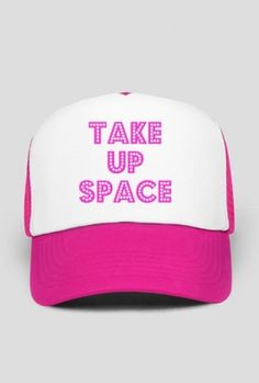 You deserve to take up space! #selflove #confidence #selfesteem #bodypositive #women #feminism You can buy this trucker hat here: https://blibli.cupsell.com/product/2355705-product-2355705.html And here you can find other merchandise with the same design: https://blibli.cupsell.com/k/take-up-space
