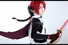 Crowley Eusford - Sakuya(朔夜) Crowley Eusford Cosplay Photo - WorldCosplay