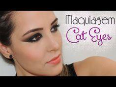 ▶ Makeup cat eyes - Workshop Divas Ludora - YouTube