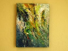 Undertow Original Abstract - Free Shipping