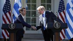 Трамп и Ципрас обсудили поставки газа из США в Европу http://feedproxy.google.com/~r/russianathens/~3/TIkDtj_c6Gc/23413-tramp-i-tsipras-obsudili-postavki-gaza-iz-ssha-v-evropu.html  Президент США Дональд Трамп и премьер-министр Греции Алексис Ципрас на встрече в Вашингтоне обсудили возможные варианты поставок сжиженного природного газа (СПГ) из США в Европу.