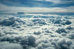 Above Clouds - Wall murals - Photowall