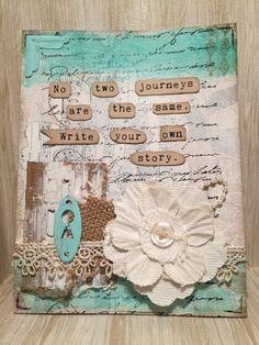 No Two Journeys are the same Card//Handmade Card by MyArtLyfe
