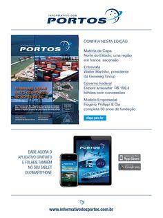 A edição de setembro da Revista Informativo dos Portos já está disponível online. Você pode ler através do Issuu, ou também baixar o aplicativo na Apple Store e Google Play.